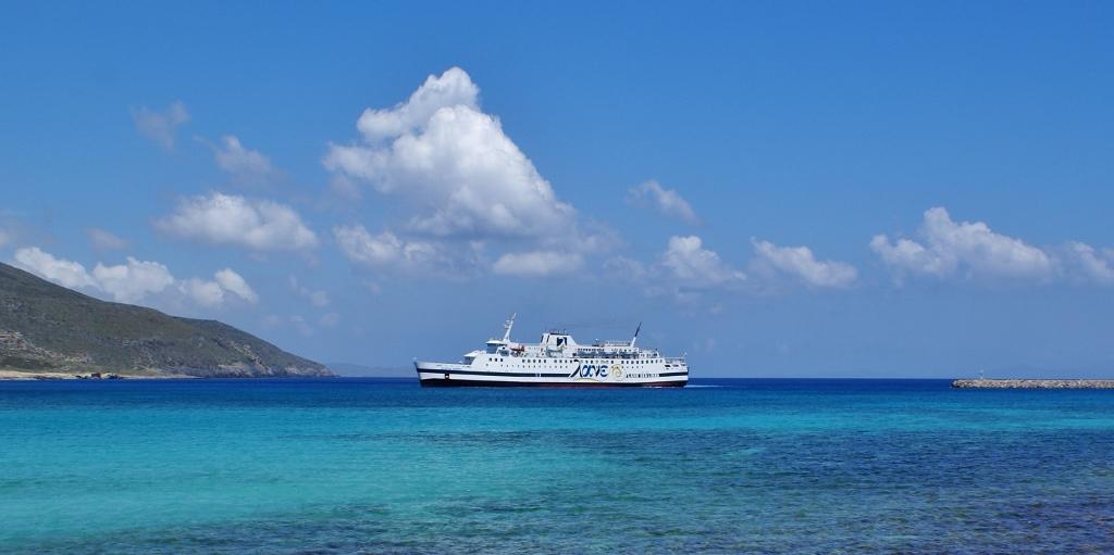 Lane Lines - ferry Vitsentzos Kornaros