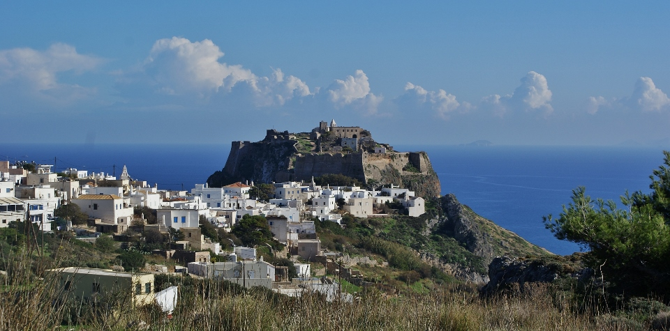 The island Kythera - Chora and the Kastro