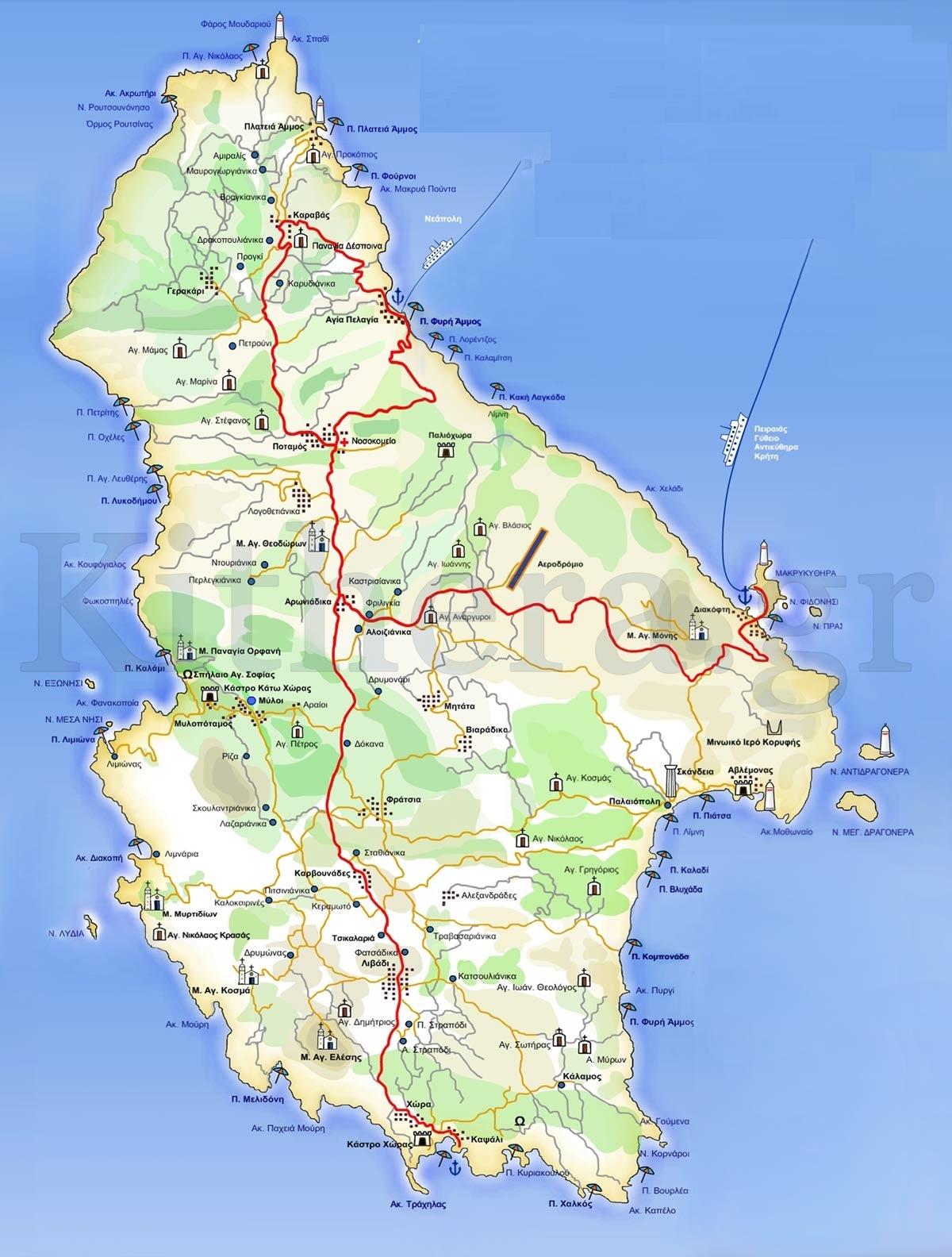 kythira-map