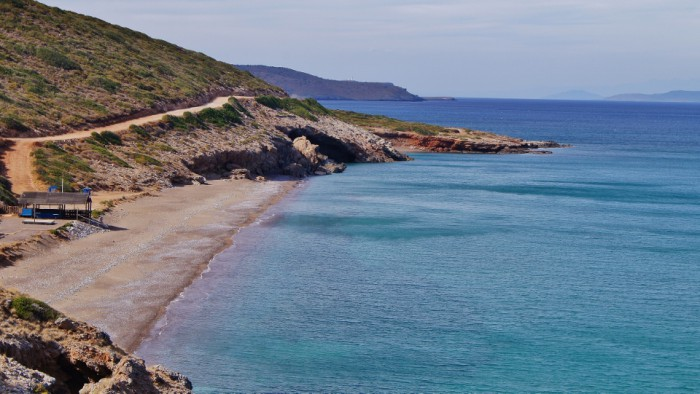 Beaches of Kythera - Agia Pelagia - Lagada beach