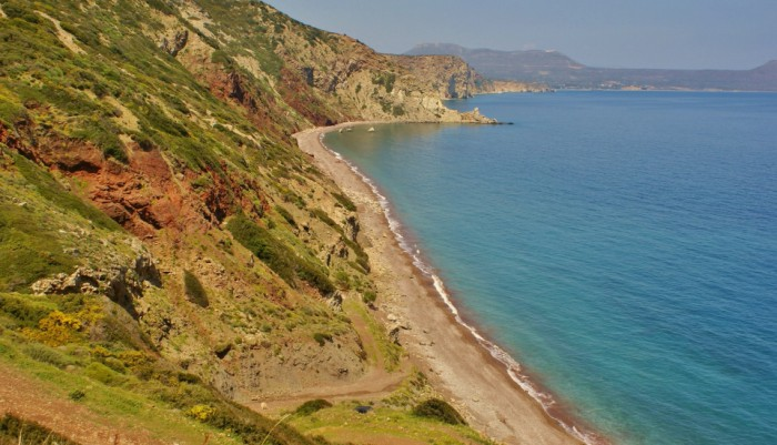 Beaches of Kythera - Fyri Ammos (Kalamos)