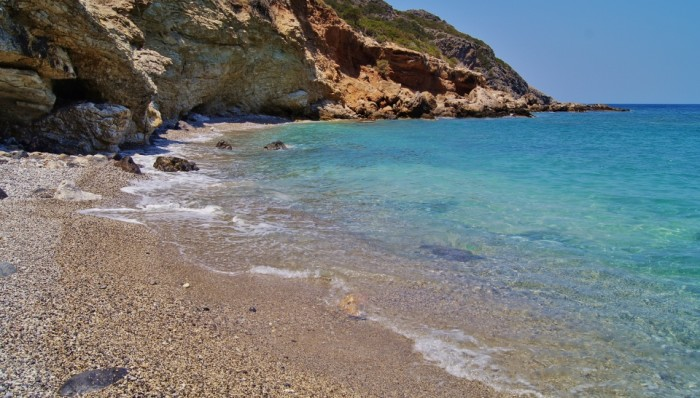 Beaches of Kythera - Fanakopia beach