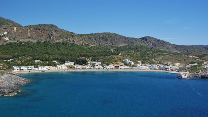Beaches of Kythera - Kapsali beach