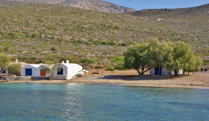 Beaches of Kythera - Limnionas beach