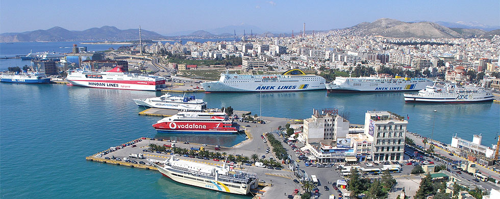 Port of Piraeus - ferry Kythera