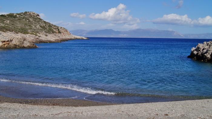 Stranden van Kythira - Fournoi