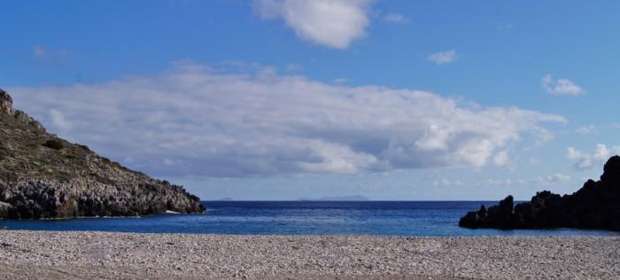 Stranden van Kythira - Chalkos
