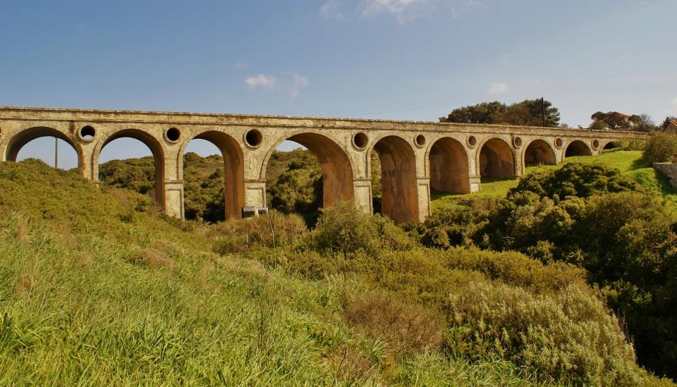 The island Kythera - the bridge of Kadouni