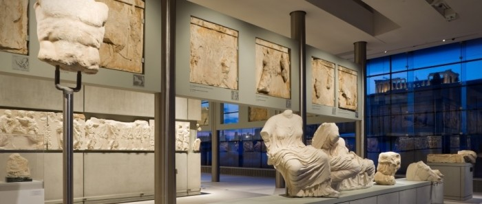 Overnight stay in Athens - the New Acropolis Museum