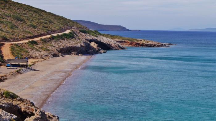 Stranden van Kythira - Agia Pelagia - Lagada beach