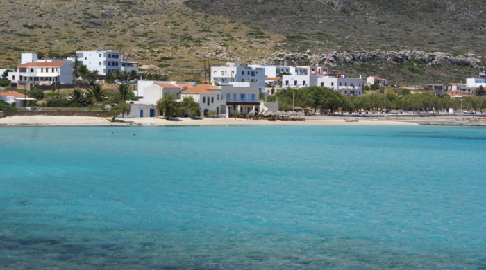 Beaches of Kythera - Diakofti beach