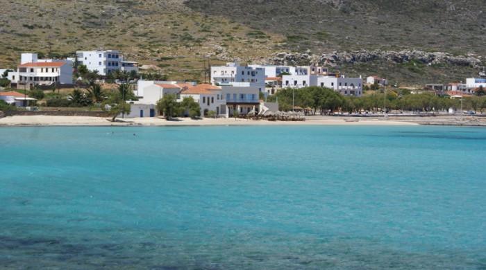 Stranden van Kythira - Diakofti