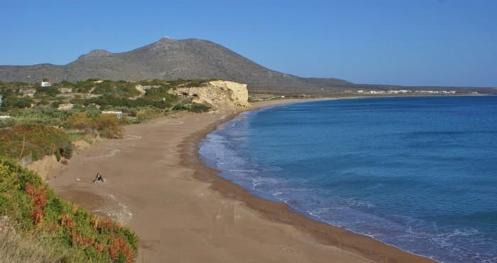 Stranden van Kythira - Palaiopolis beach