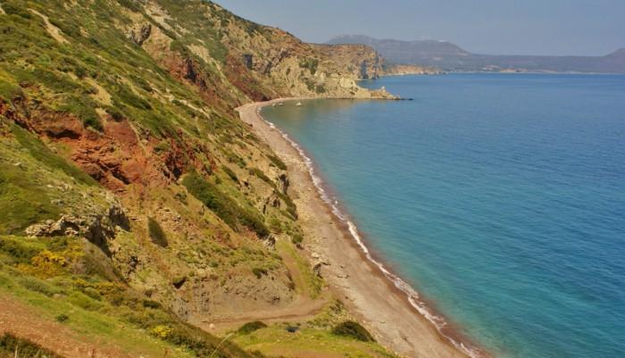 Stranden van Kythira - Fyri Ammos (Kalamos)
