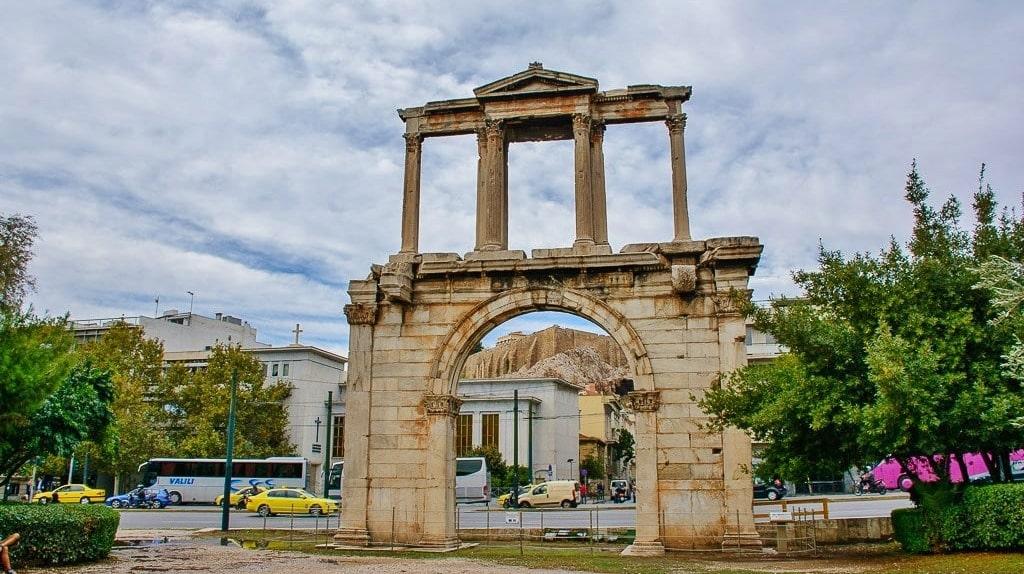 Hadrian's Athens 6-min