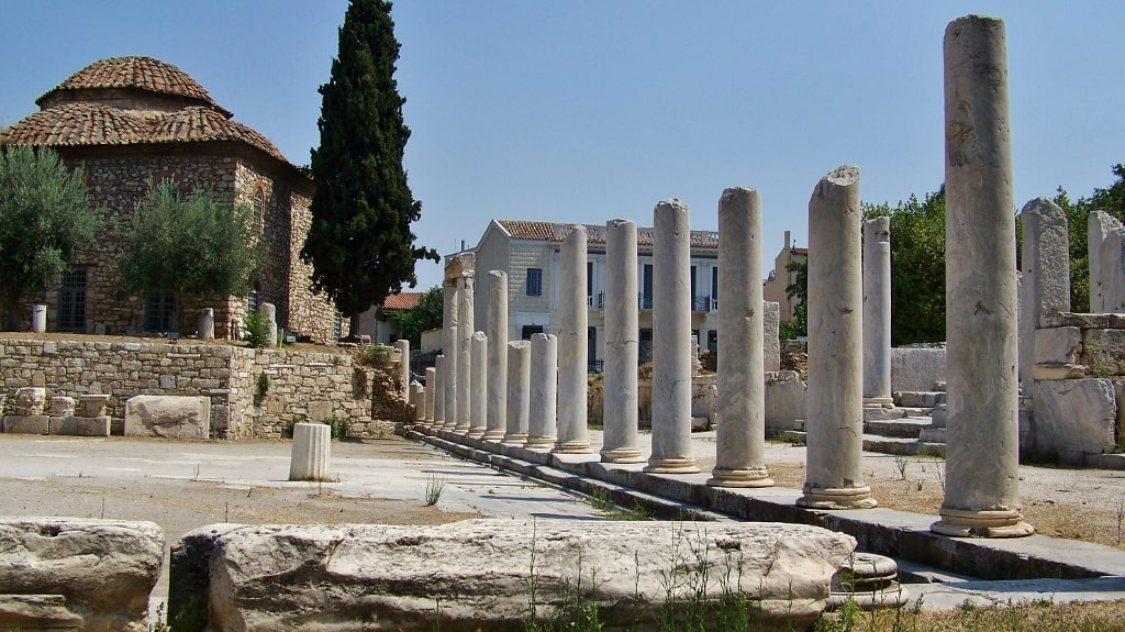 Roman Agora and Tower of the Winds - Athens Info Guide by Xenonas Fos ke Choros
